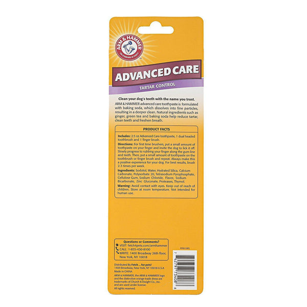 NEW Arm & Hammer Advance Care Dental Toothbrush Set - Dental Hygiene - Browns Pet Range