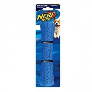 NEW Nerf Dog Squeaky Tire Tough Stick Toy - Dog Toys - Browns Pet Range