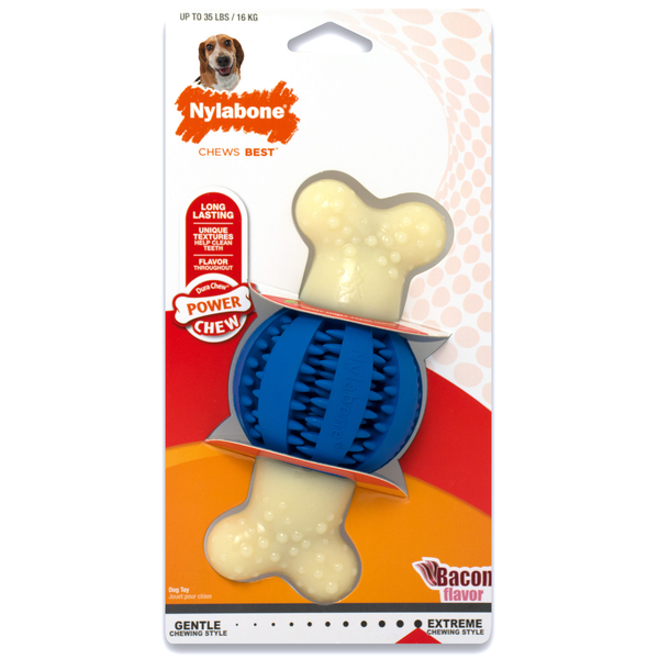 Nylabone Power Chew Double Action Ball