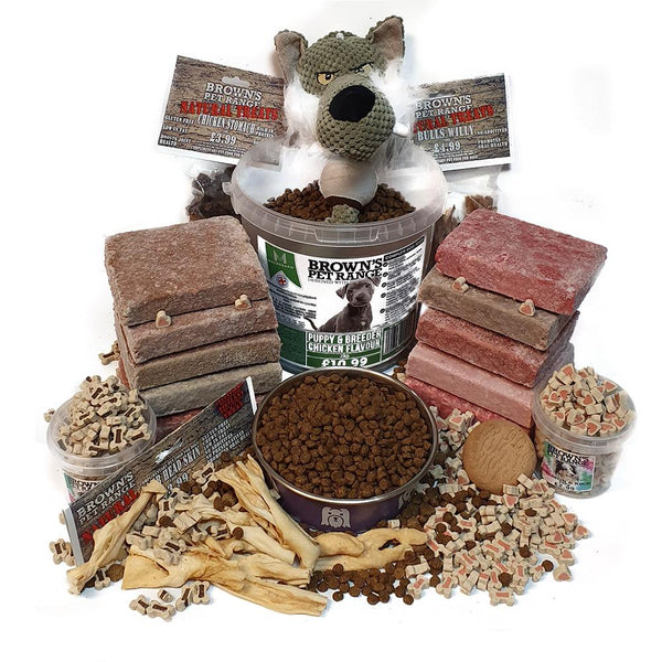 Perfect Combination Diet Bundle - Puppy - Dog Food - Browns Pet Range