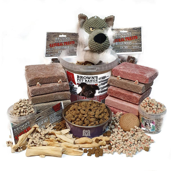 Perfect Combination Diet Bundle - Senior Dog's & Sensitive Stomachs - Dog Food - Browns Pet Range