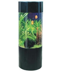 **REFURBISHED** Column Expedition - Acrylic Aquarium - 147L- Black