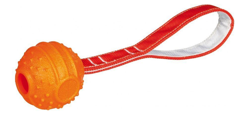 Soft & Strong Ball on a Strap (Size Varieties) - Dog Toys - Browns Pet Range
