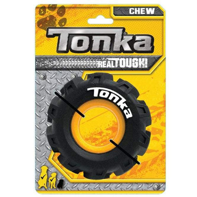 Tonka Dog Toys | Seismic Tread Tire Chew Toy With Insert - Dog Toys - Browns Pet Range