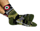 "Bianchi Accessories,SGV Recommended Brands Bianchi Camo Bullseye Socks - 3"" Cuff"