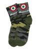 "Bianchi Accessories,SGV Recommended Brands L/XL / Black Bianchi Camo Bullseye Socks - 3"" Cuff"
