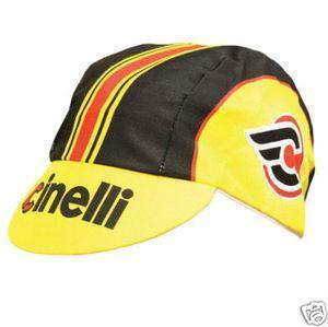 Cinelli Accessories Yellow Cinelli Yellow Cap