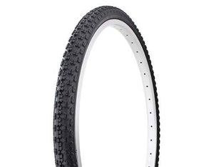 "Duro Components Black/black / 26 x 1.75"" Duro 26"" x 1.75"" gum wall tires"