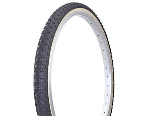 "Duro Components Black/skin / 26 x 1.75"" Duro 26"" x 1.75"" gum wall tires"