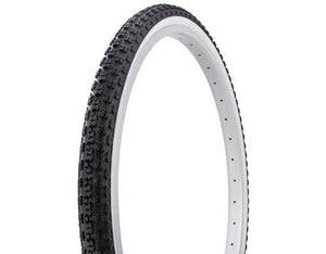 "Duro Components Black/white / 26 x 1.75"" Duro 26"" x 1.75"" gum wall tires"