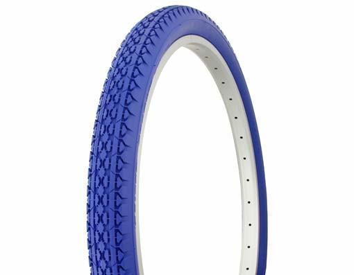 """1 Pair of Duro 26/""""x1.50/"""" All Blue Tire for Beach Cruiser Bicycle"""