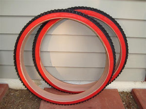 Duro Components Duro Rocky Wolf 26 x 210 Red  Wall  Tires