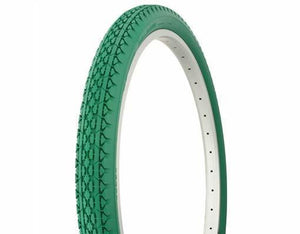 "Duro Components Green Tires "" You Get 2 Per Purchase "" Duro 26""x2.125"" Beach Cruiser Color Bicycle Tires"