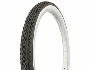 "Duro Components White Wall Tires "" You Get 2 Per Purchase "" Duro 26""x2.125"" Beach Cruiser Color Bicycle Tires"