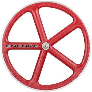 Encore Wheels Wheels Red / 700c Encore Front Track Wheel