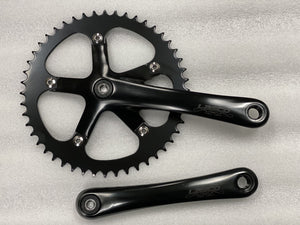 Lasco Components 170mm / Black Lasco Original Crankset 48T Black