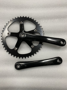 Lasco Components Lasco Original Crankset 48T Black