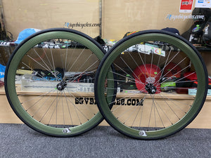 Origin8 Wheels 42mm Origin8 Fixed Gear Wheelset 700c W / Tube and Tire Flip-flop hub
