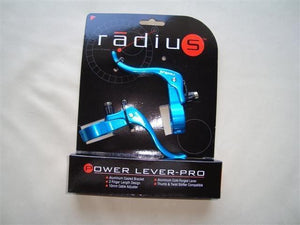 Radius Components Blue Radius Power Lever-Pro  in line brake levers