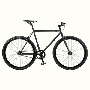 Retrospec Bikes Matte Black / 49cm / RB Mantra V3 SS/FG 1S Retrospec Bikes Mantra Fixed-Gear / Single-Speed Bike Matte Black