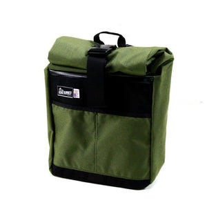 Road Runner Accessories Green Road Runner Roll Top Messenger Bag