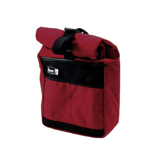 Road Runner Accessories Red Road Runner Roll Top Messenger Bag