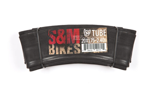 "S&M Components 20X 2.10-2.50″ S&M 20"" Inner Tube 2.10""-2.50"" Heavy Duty Inner Tube"