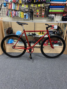 Sgvbicycles Bikes 48cm / Red / Black Sgvbicycles Custom Fixed-Gear / Single-Speed Red Bike