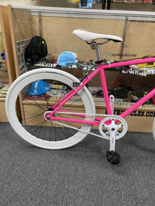 Sgvbicycles Bikes Sgvbicycles Custom Fixed-Gear / Single-Speed Pink Bike