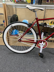 Sgvbicycles Bikes Sgvbicycles Custom Fixed-Gear / Single-Speed Red Bike