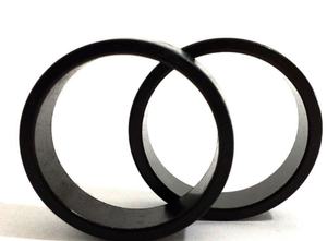 Uno Components 1 1/8 inch Black Aluminum Threadless Headset Spacer Spacers 10mm