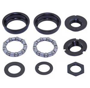 Uno Components Black Bottom Bracket Cup Set