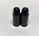 Uno Components Black Bullet Valve Caps Pair