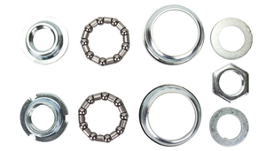 Uno Components Chrome Bottom Bracket Cup Set