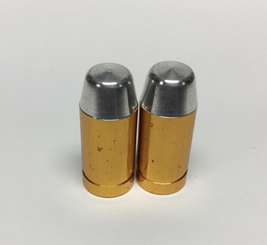 Uno Components Gold Bullet Valve Caps Pair