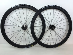 35mm Aero Track Wheelset With Thickslick Tires