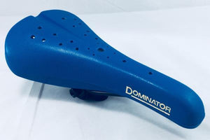 Viscount Components Blue Viscount Dominator BMX Seat Blue Old School BMX Bicycle Seat