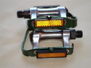 Wellgo Components Green Wellgo Alloy 9/16 Pedals