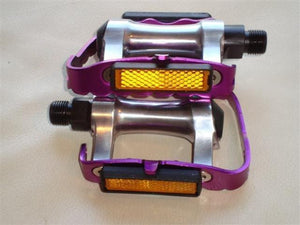 Wellgo Components Purple Wellgo Alloy 9/16 Pedals