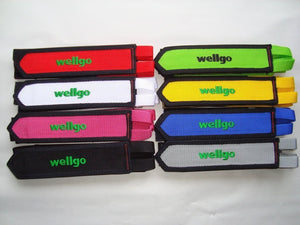 Wellgo Components White Wellgo Footstraps Fixed Gear Footstraps