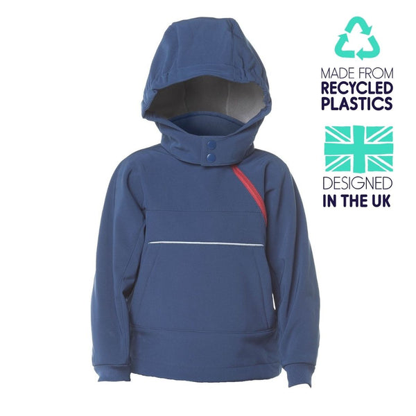 eco hooded top- all seasons - Ink
