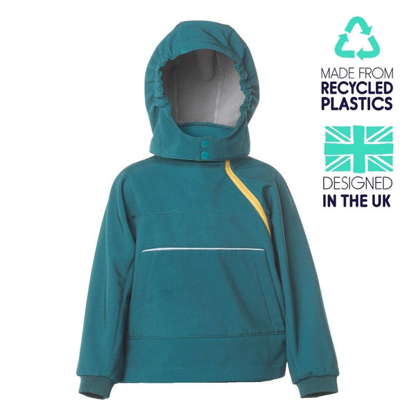 eco hooded top - all seasons - forest
