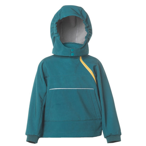 hooded top - forest green