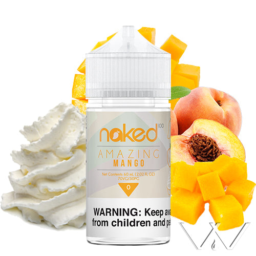 Amazing Mango | Naked 100 | Vape World Australia | E-Liquid