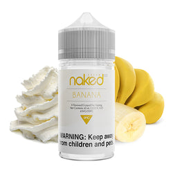 Banana | Naked 100 | Vape World Australia | E-Liquid