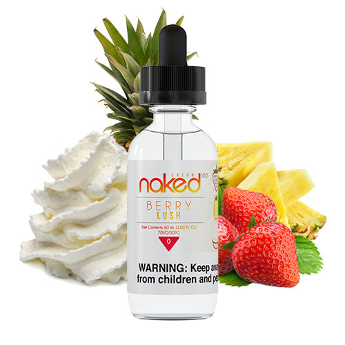 Berry Lush 60ml | Naked 100 | Vape World Australia | E-Liquid