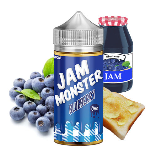 Blueberry | Jam Monster | Vape World Australia | E-Liquid
