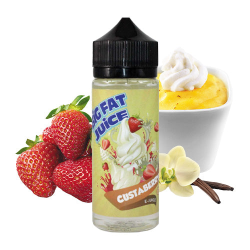 Custaberry 120ml | Big Fat Juice | Vape World Australia | E-Liquid