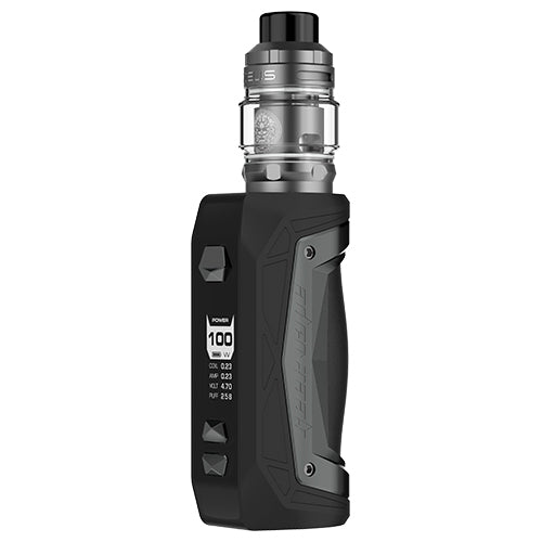 GeekVape Aegis Max Zeus SubOhm Kit Black Tungsten | Vape World Australia | Vaping Hardware