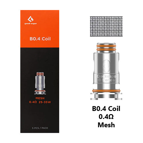 Geek Vape B Series Replacement Coils 0.4ohm | Vape World Australia | Vaping Hardware
